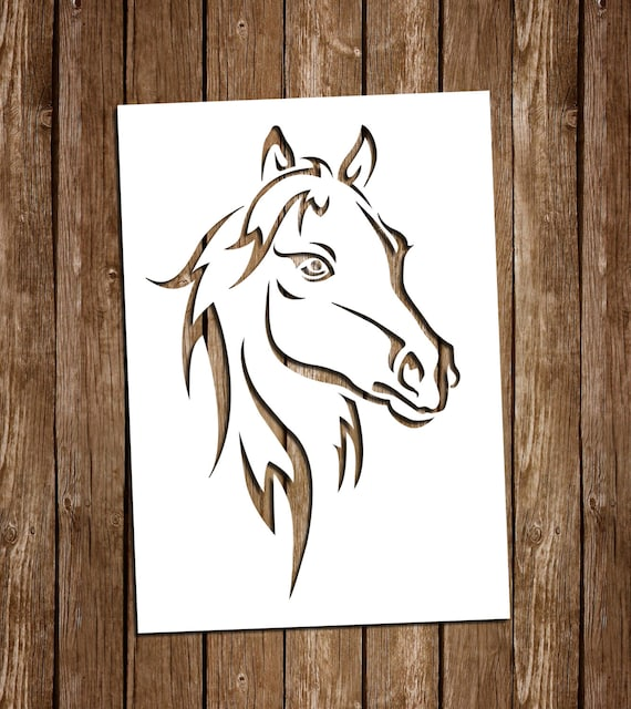 paper cut out art templates horse svg cutting files pdf paper cutting template horse