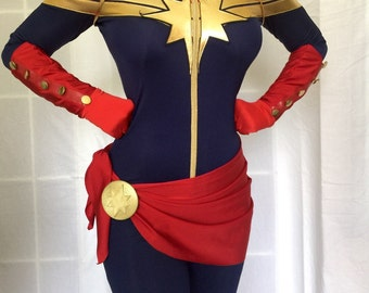 Captain Marvel (Carol Danvers) Clasp Accessory Prop 3D Printed for Cosplay & Costume