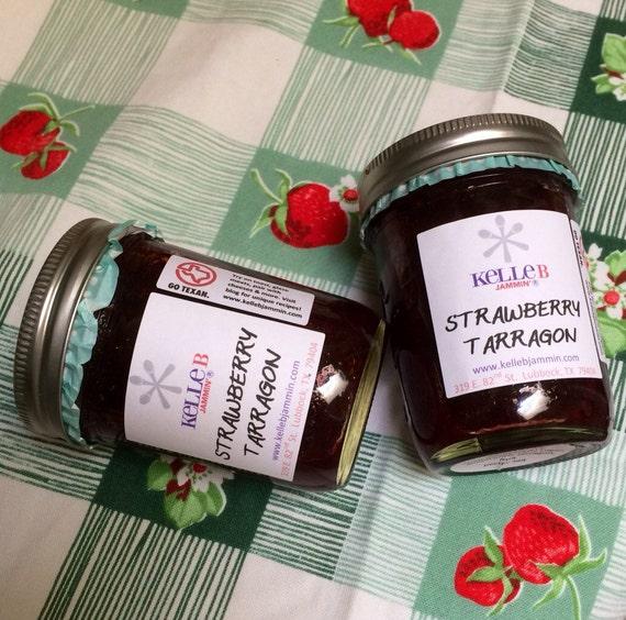 Strawberry-Tarragon Jam Recipe — Dishmaps