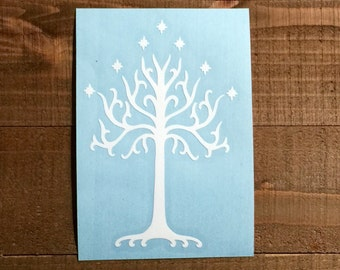 White Tree of Gondor Decal (Tolkein Decal)