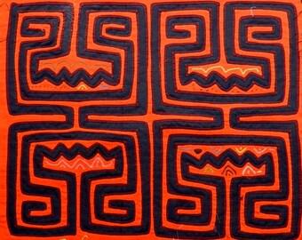 Kuna Mola Panama Art