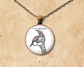 Meme necklace Bogs pendant Gooby jewelry