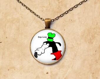 Gooby pendant Dolan jewelry Meme necklace