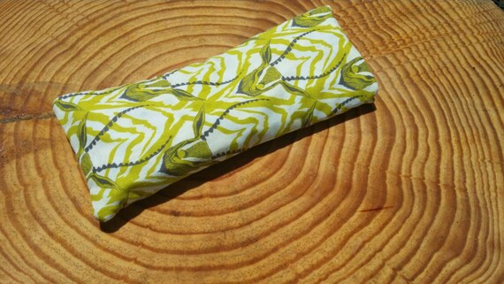 Yoga Eye Pillow/ Relaxing Cotton Eye Pillow with Antelope cover/ Yoga Accessories / Meditation Pillow/ Essential Oil Pillow
