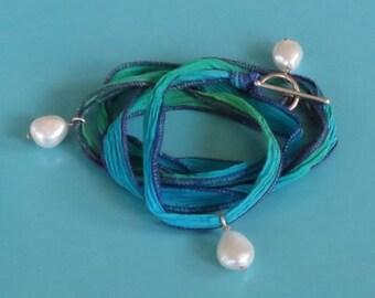 Hawaiian Silk Ocean Breeze Bracelet