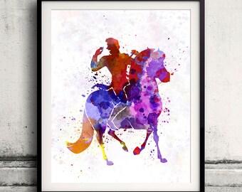 Hans - Frozen 8x10 in. to 12x16 in. Fine Art Print Glicee Disney Poster Watercolor Nursery Gift Room Children's Art Illustration - SKU 1060