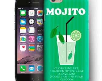 Mojito iPhone Case For iPhone 6 Plus Case,iPhone 6 Case,iPhone 5/5s Case,iPhone 5C Case,iPhone 4/4s Case,iPod Touch 5 Case