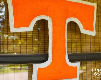Tennessee Burlap Door Hanger