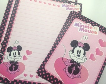 Disney Stationery Set from Japan - Minnie Mouse