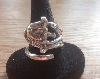 Spoon Ring (fork) Silver