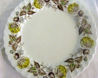 5-Johnson Brothers Fairwood Pattern Dinner Plates--Made in England