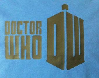 Dr. Who shirt with tardis