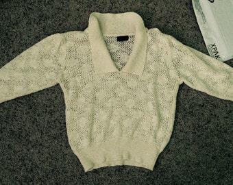 Vintage quarter-sleeves shirt