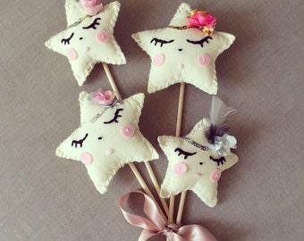 Handmade little star wand XO