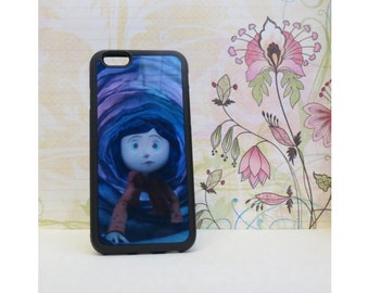 Coraline #2 - Rubber iPhone Case