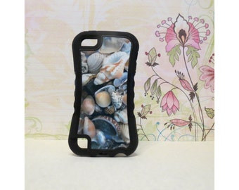 Sea Shells #2 - Rubber iPod Touch 5 (5th gen) Case