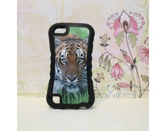Tiger - Rubber iPod Touch 5 (5th gen) Case