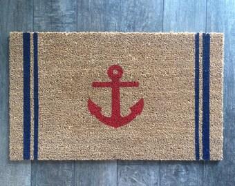 Nautical Rug Etsy