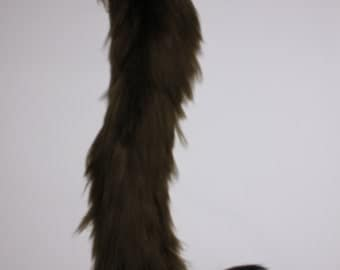 Custom Kitten Gear Furry Cat Tail Cosplay