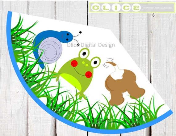 Frog hat Snails hat Puppy Dog Tails hat Birthday party hat – Party Hat Template