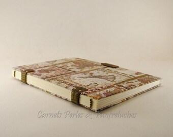Sketchbook drawings 21cm X 15cm, Coptic binding, rabat magnetised, 72 pages,