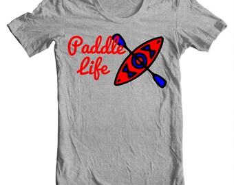 Kayak T-shirt - Paddle Life Kayaking T-shirt