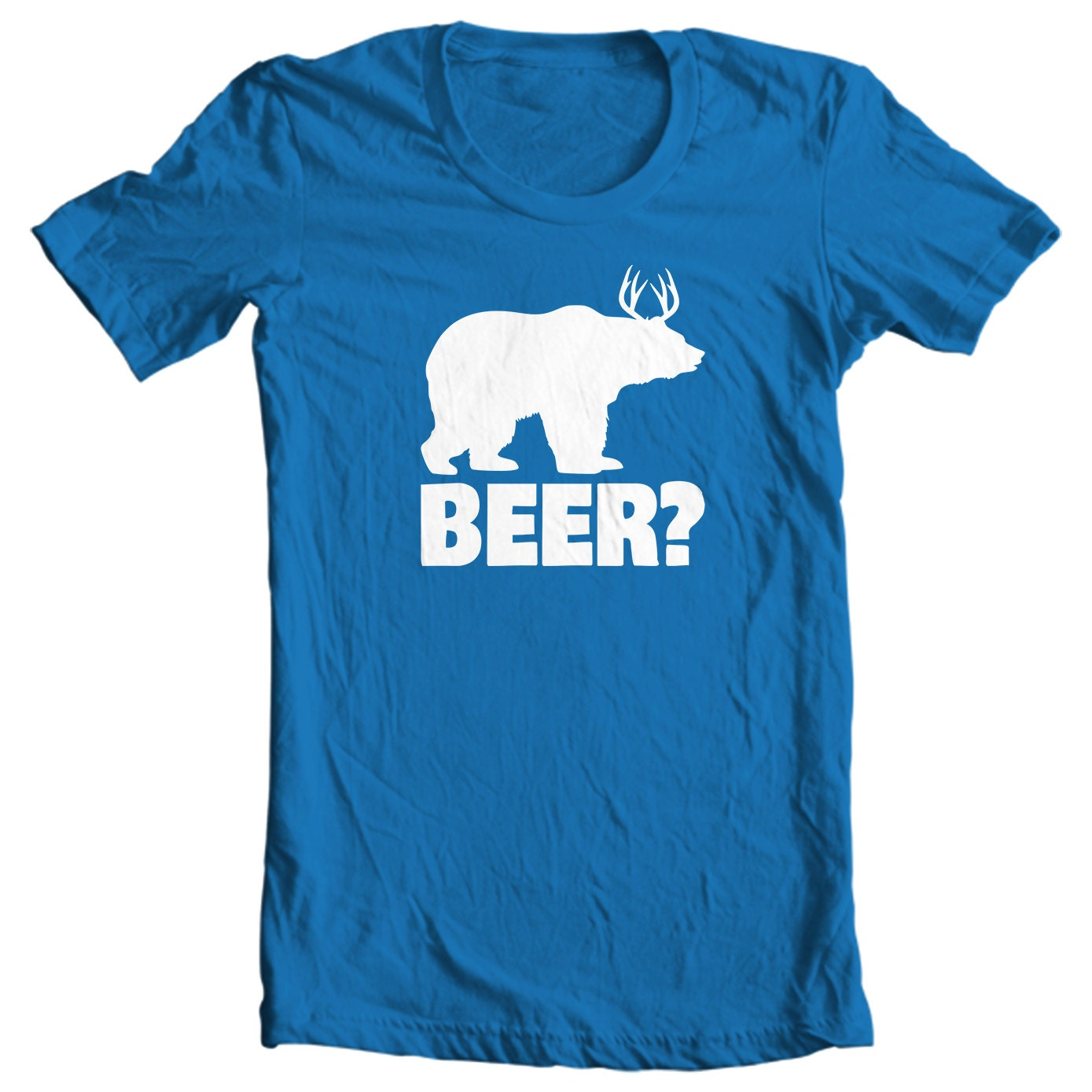 Bear + Deer = Beer Hunting T-shirt