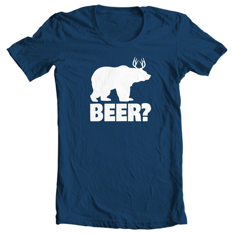 Bear + Deer = Beer Hunting T-shirt
