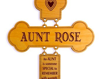 Mothers Day Gift to my Aunt,Valentines Day Aunt Gift Wall Cross,Unique Wall Cross,Special Gift for Aunt,All Seasons and Occasions Gift.