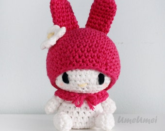 My Melody Amigurumi Doll