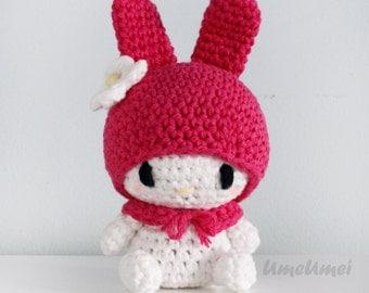 My Melody Amigurumi Doll