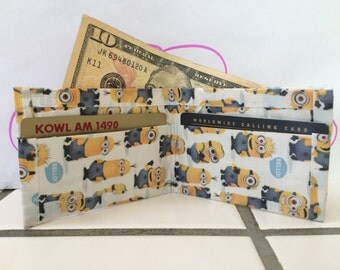 Duct Tape Minion Wallet
