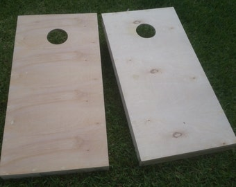 Non Painted / UnFinished 1 x 4 Cornhole Boards