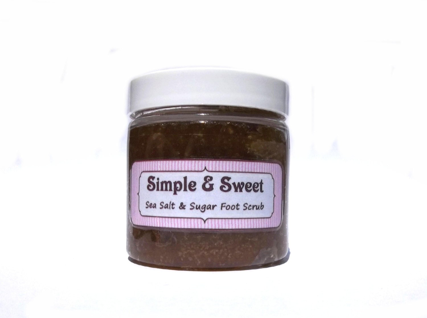 Brown Sugar Vanilla Sea Salt and Sugar Foot by SimpleSweetScrubs