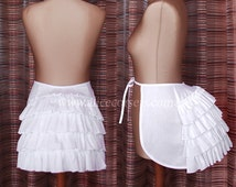 Victorian Bustle Cage Crinoline Tournure ~ Wedding Panniers Hoops Bustle Dress Costume ~ Steampunk Victorian Undergarment