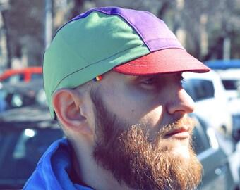 """Colorful Cycling Hat """"Galacia"""""""