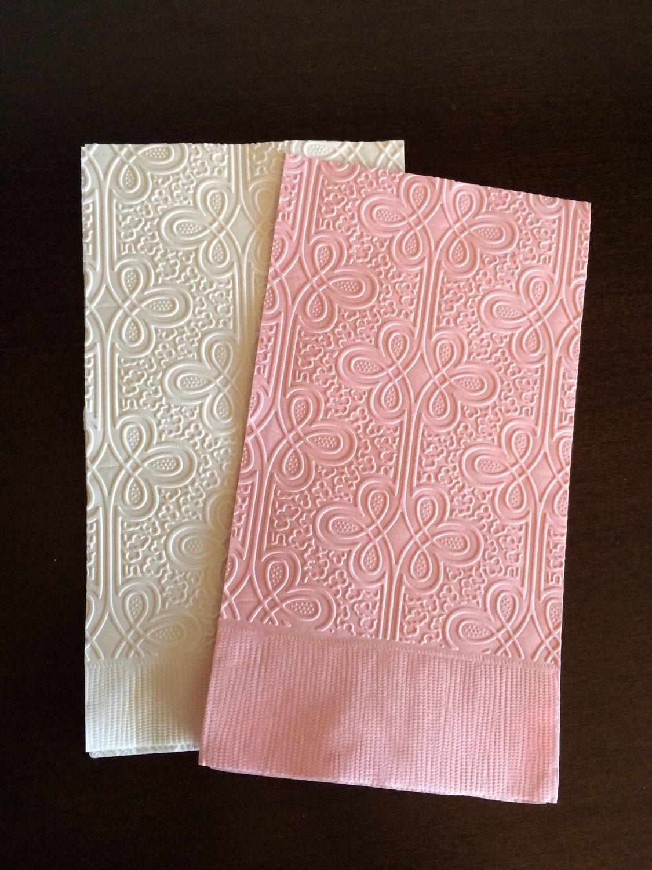 regal guest towel napkins wedding paper napkins embossed