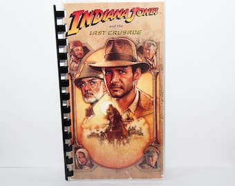 Indiana Jones VHS Cover Notebook