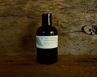 Herbal Massage Body Oil, 4oz
