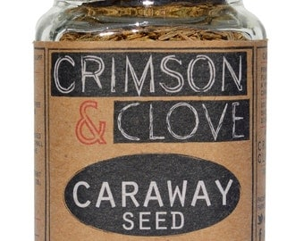 Whole Caraway Seed by Crimson and Clove (1.7 oz.)