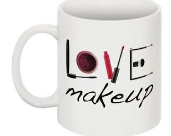 Love Makeup Coffee Mug