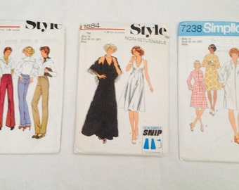 1970's sewing patterns