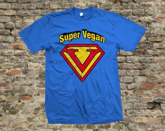 Super Vegan T Shirt 100% cotton - 2025