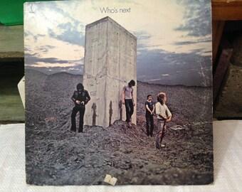 Who's next 1971 LP album.  Decca