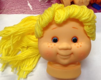 Cabbage Patch Doll Heads