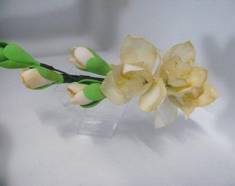 hair band flower freesia