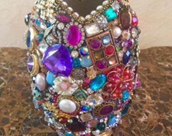 SALE!!!!! Jeweled Vase