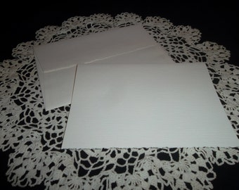 Vintage Strathmore Blank Greeting Cards and Envelopes, Set of 3