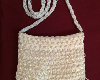 Vintage Walborg Pearl Beaded Purse - perfect for a wedding