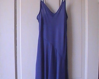 Royal Blue Vintage Nightgown From The 70's